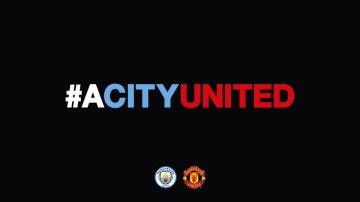 La dedicatoria del Manchester City al Manchester United