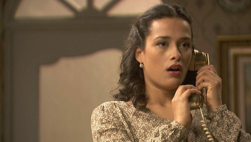 Lucía escucha una conversación secreta entre Camila y Hernando