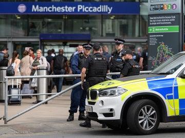 Policía en Mánchester