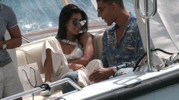 Kourtney Kardashian y su nuevo novio Younes Bendjima