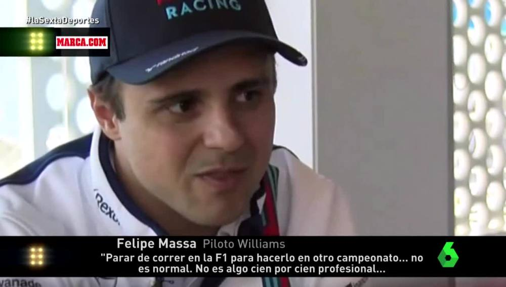 Felipe Massa, piloto de Williams