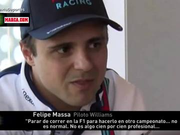 Felipe Massa, piloto de Williams