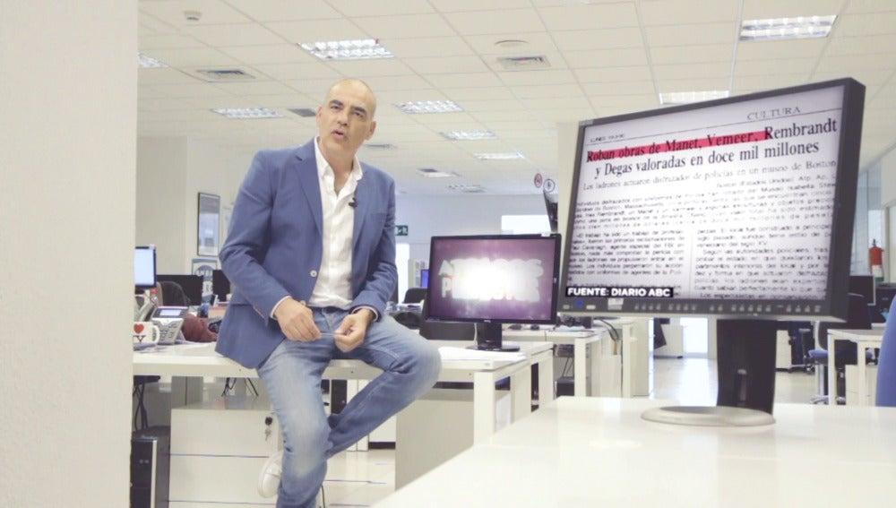 Nacho Abad confiesa las claves del mayor robo a obras de arte de la historia
