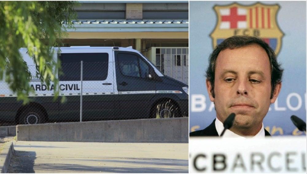 Sandro Rosell ingresa en la prisión de Soto del Real