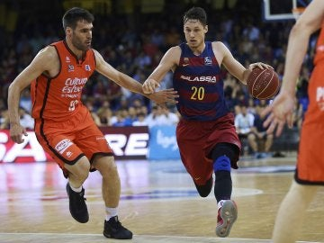 El Barça Lassa ante el Valencia Basket