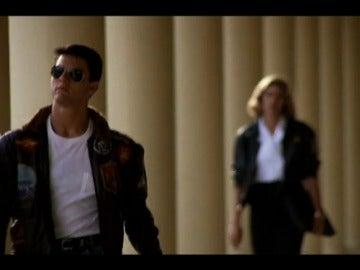 """Frame 13.790545 de: Tom Cruise confirma que habrá segunda cinta de la película """"Top Gun"""""""