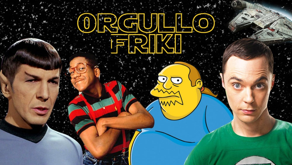 Recordamos los personajes más frikis de la televisión
