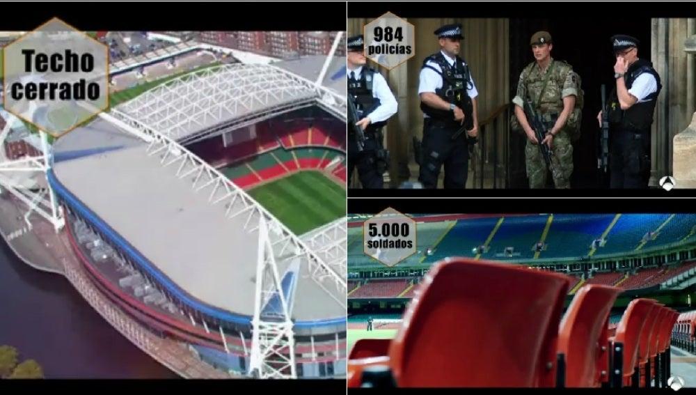 Seguridad para la final de Cardiff