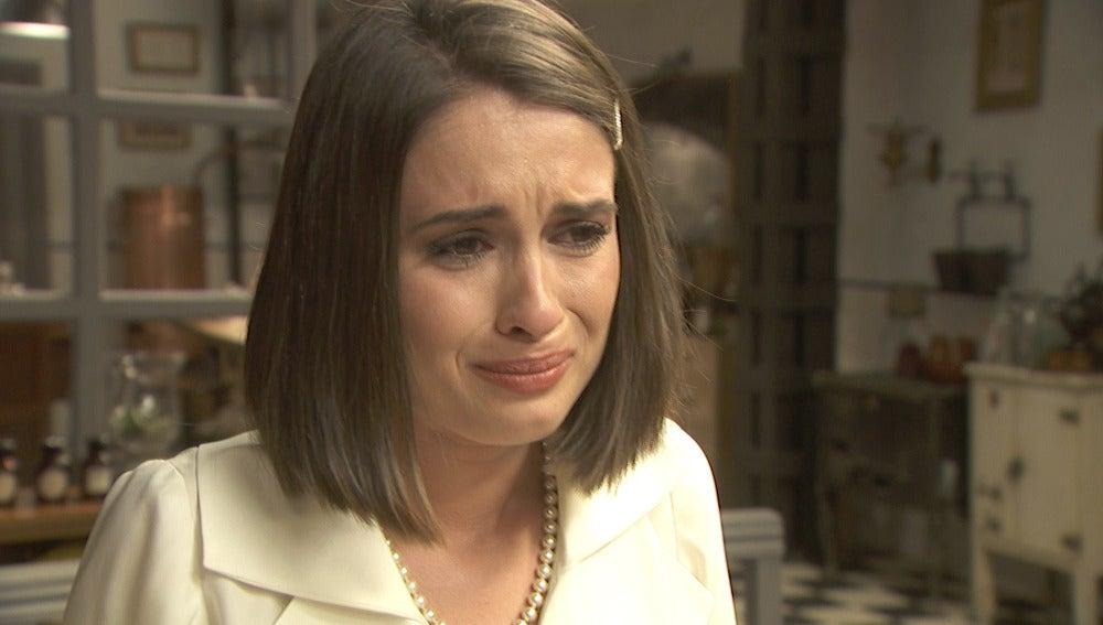 La fría despedida entre Beatriz y Camila