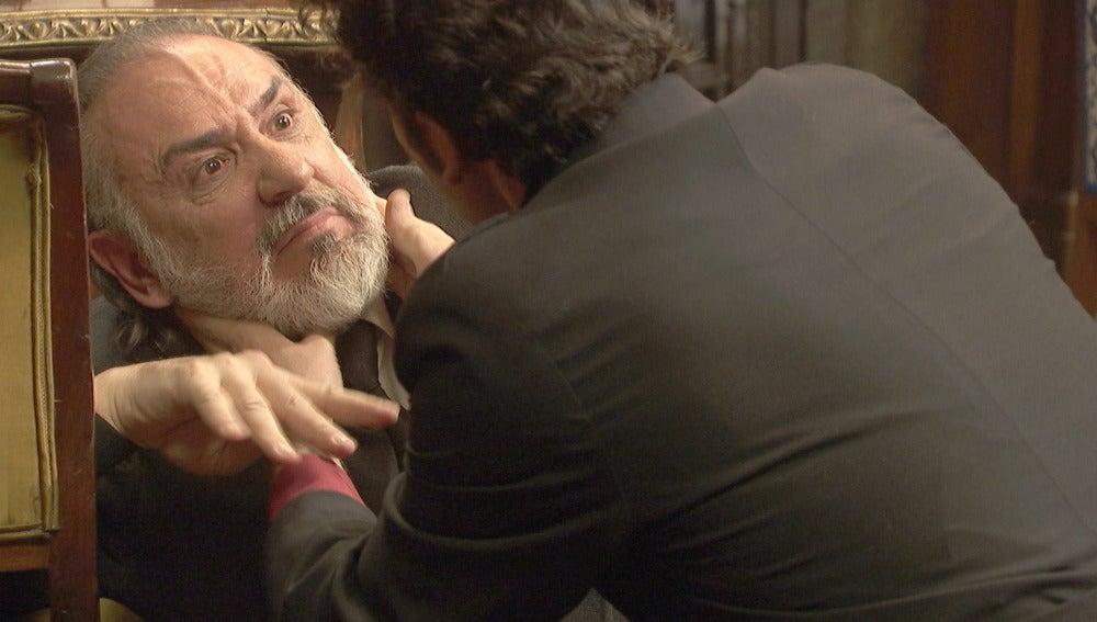 La vida de Eusebio Garrigues depende de Cristóbal, ¿dejará morir a su padre?