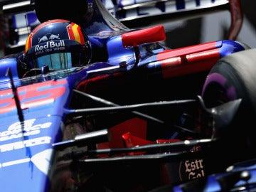 Carlos Sainz, en el trazado de Montecarlo