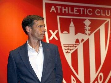 'Cuco' Ziganda, presentado con el Athletic