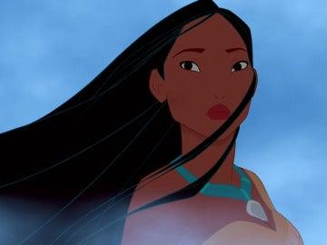 Pocahontas sufriendo en silencio