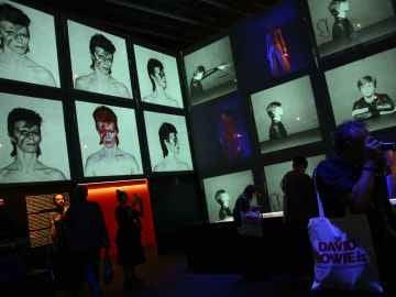 Exposición de David Bowie en Barcelona