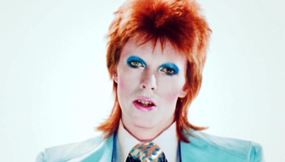 David Bowie en su disco 'Ziggy Stardust'