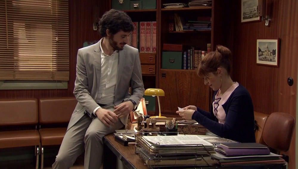 Jaime y Nuria comparten un bonito momento que pronto se desvanece