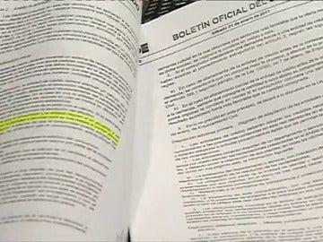 Frame 28.749532 de: El Gobierno aprueba crear la comisión de seguimiento de las cláusulas suelo