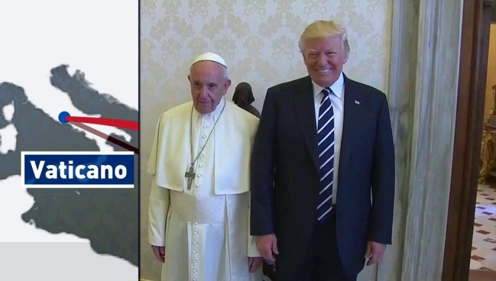 Frame 44.024888 de: La gira de Donald Trump deja numerosas y sorprendentes anécdotas