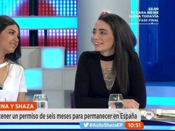 Frame 281.563091 de: Jimena y Shaza posan para la portada de 'Interviú'