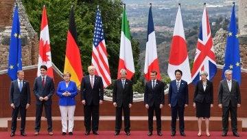 Foto de familia cumbre G7