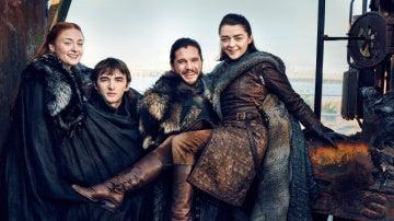 Los hermanos Stark para EW