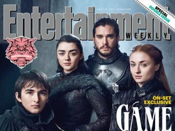 Portada de Entertainment Weekly de 'Juego de Tronos'