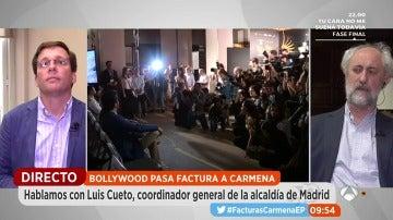"""Frame 279.605925 de: El portavoz del PP en el Ayuntamiento de Madrid ante la polémica de Bollywood: """"Lo que queda es la hipocresía de Ahora Madrid desde que entró al Gobierno"""""""