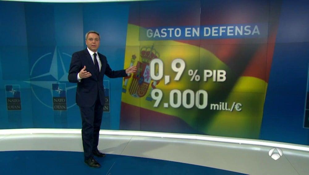 Frame 25.096 de: España tendría que doblar la cantidad que invierte en Defensa para llegar al 2% del PIB