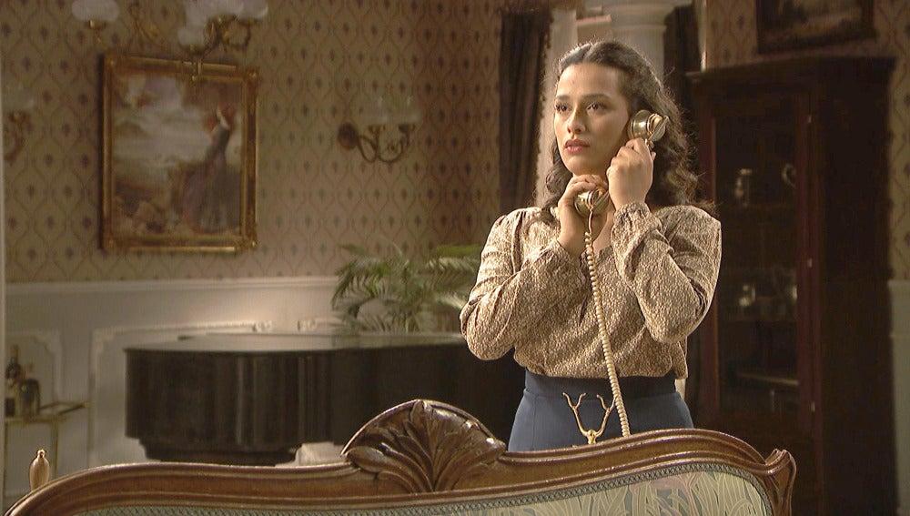 Lucía descubre información privilegiada sobre el paradero de Camila