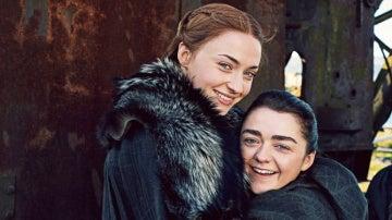 Las hermanas Stark para Entertainment Weekly