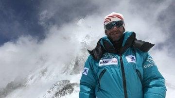 Ferran Latorre en el Everest