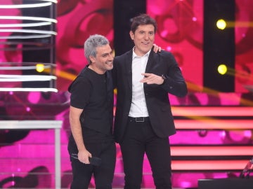 Fran Valenzuela conquista al jurado como Sergio Dalma