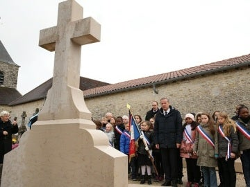 Imagen de archivo de la tumba de Charles de Gaulle