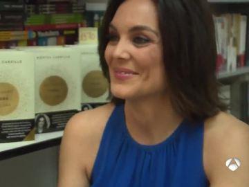 Mónica Carrillo, en la Feria del Libro