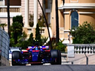 Carlos Sainz, en la clasificación en Montecarlo