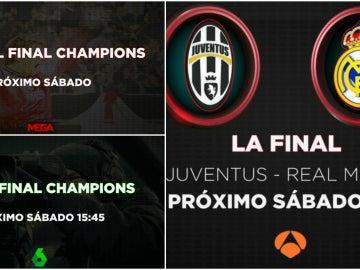 Despliegue sin precedentes para la final de la Champions League