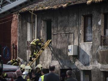 Así ha quedado el edificio tras el incendio