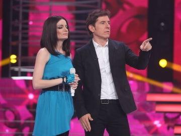 """Miki Nadal a  Patricia Aguilar: """"Tu interpretación como Laura Pausini ha estado muy a la altura"""""""
