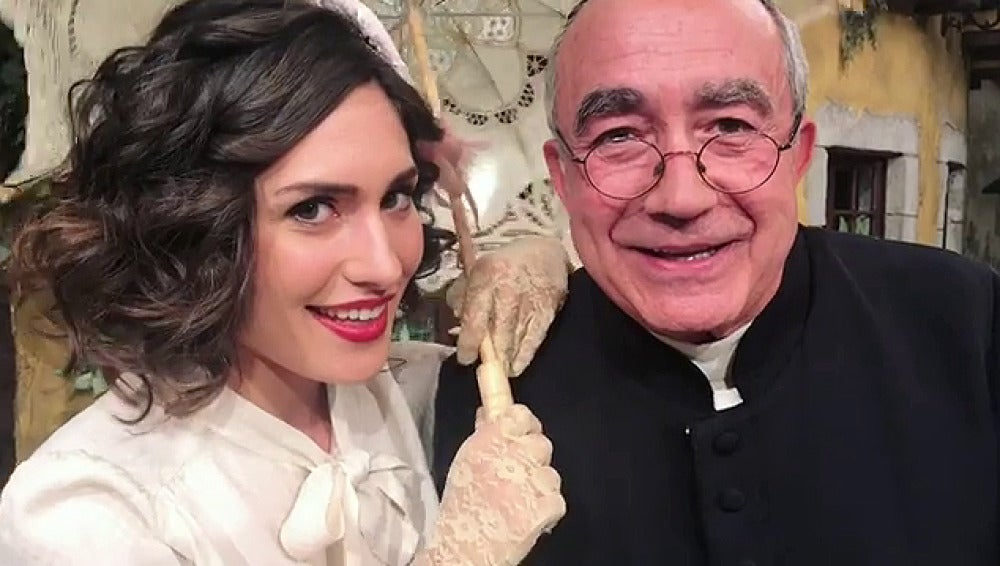 Yara Puebla y Mario Martín se meten en la piel de Mary Poppins