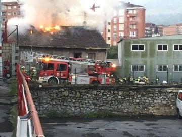Incendio en Bilbao