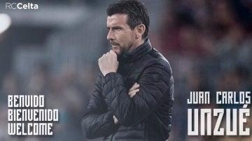 Unzué, nuevo técnico del Celta de Vigo