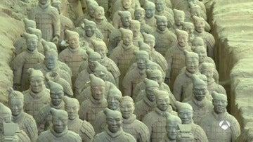 Frame 67.388095 de:  Un español entre los 8.000 Soldados de 'Xian'