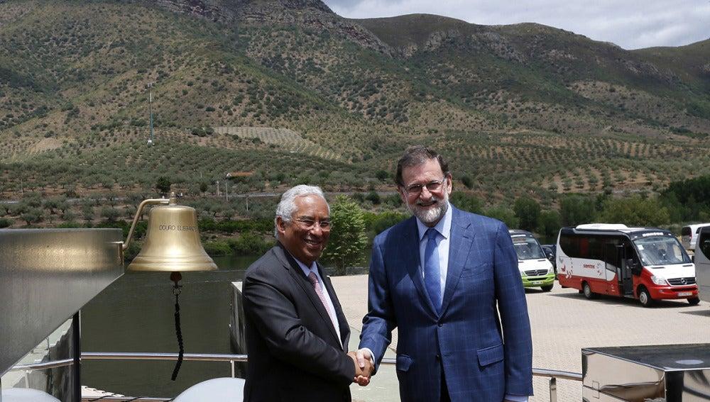 Mariano Rajoy y Antonio Costa