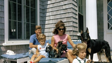 Kennedy, en familia