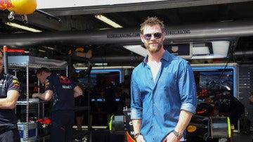 Chris Hemsworth se ha dejado ver en el Gran Prix de la Fórmula 1 de Mónaco