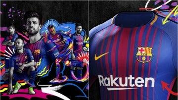 La nueva equipación del Barça para la 17/18