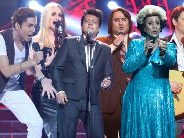 Las mejores actuaciones de los finalistas de 'Tu cara no me suena todavía'