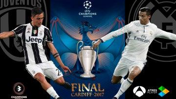 La final de la Champions de Cardiff, en directo en Antena 3 y Atresplayer