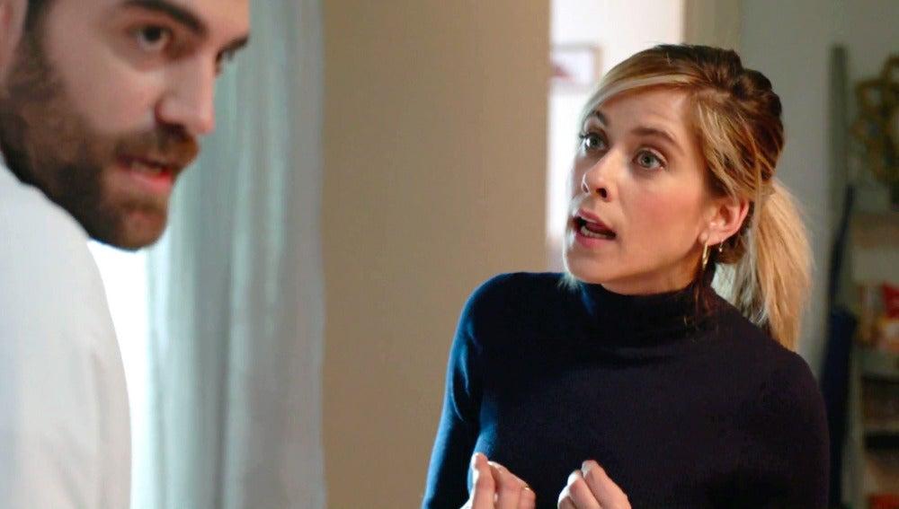 Iñaki estalla en una fuerte discusión con Carmen por los celos