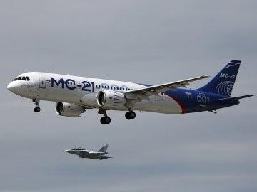 El nuevo avión MS-21-300